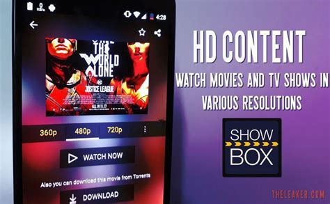 Showbox Apk For Android, Pc, Iphone And More (download