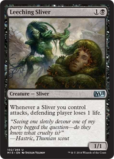 Sliver Deck Modern 2015 by The Player 33 Magic 2015 The Tribal