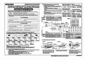 Mitsubishi Rg79v039h01 Air Conditioner Installation Manual