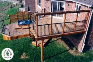 Beautiful Two Level Deck by This Is A Beautiful Multi Level Deck That Includes A Lower