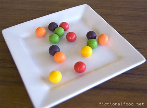wonkas everlasting gobstoppers fictional food