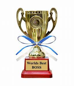 Everyday Gifts Worlds Best Boss Trophy: Buy Everyday Gifts