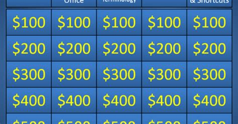 powerpoint jeopardy template  highest quality