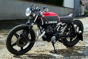 Honda 125 Twin : une honda cb 125 twin cafe racer la sauce vini garage ~ Melissatoandfro.com Idées de Décoration