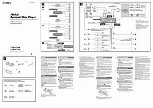 Sony Cdx Gt450u Wiring Diagram