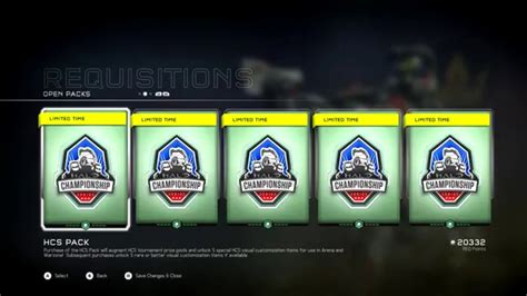 Halo 5 Hcs Req Pack Opening Five More Packs Many More