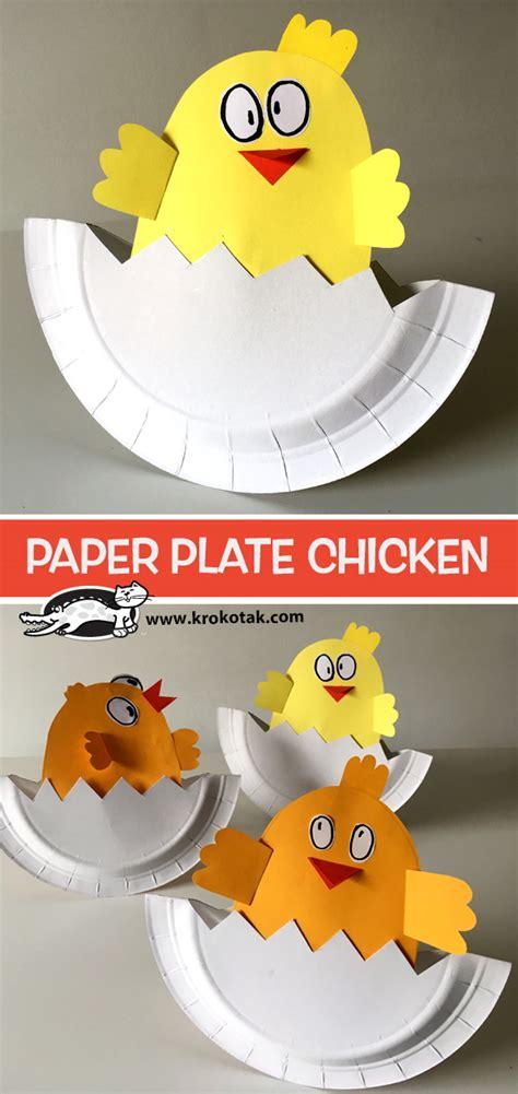 krokotak paper plate chicken