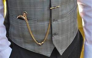 How To Wear Guide - Straight Pocket Watch Chains | eBay