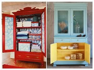 Comment Transformer Une Armoire Ancienne : comment relooker ses meubles de famille elle d coration ~ Melissatoandfro.com Idées de Décoration