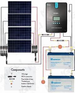 800 Watt Solar Panel Wiring Diagram  U0026 Kit List