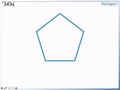 Angles Right Shapes Identifying Pentagon Don Kites