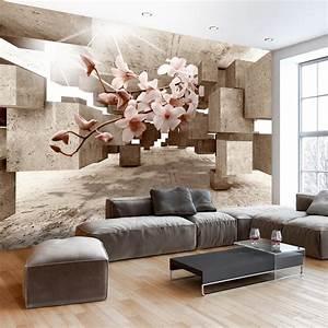 3d Tapete Schlafzimmer : fototapete 3d optik vlies tapete blumen wandbild orchidee ~ Lizthompson.info Haus und Dekorationen