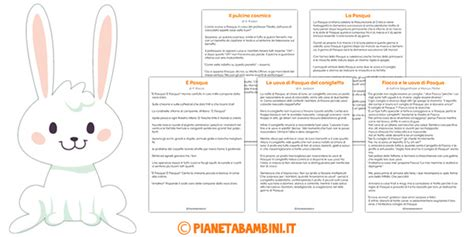 testo scuola primaria testi sulla pasqua per la scuola primaria pianetabambini it
