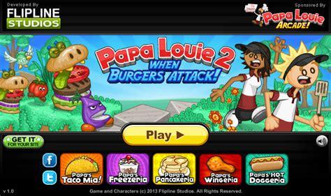 jeux de cuisine papa louie pancakeria papa louie 2 jeu gratuit