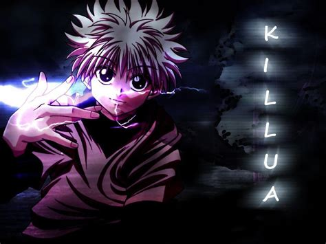 Anime Wallpaper Killua by Killua Wallpapers Wallpaper Cave