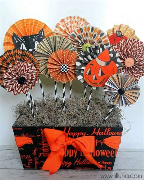 fun spooky diy halloween table decorations