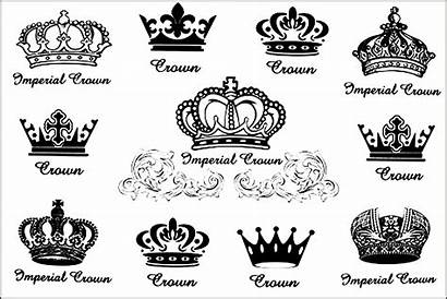 Crown Tattoo Tattoos Designs King Queen Drawing