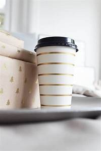 Gold To Go : coffee to go becher gold gestreift 10 st ck villa madelief ~ Orissabook.com Haus und Dekorationen