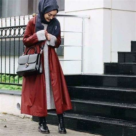 trench coats  hijabi styling ideas  trendy girls