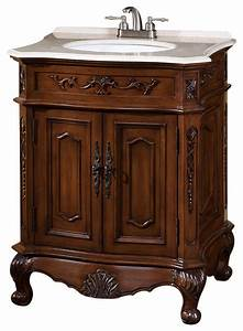29 Inch Single Sink Vanity With Marble Top traditional