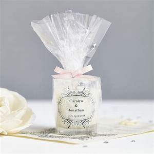 wedding favour personalised scented candles by hearth With candles for wedding favors