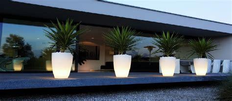 le bureau led design pot lumineux led intérieur et jardin deco lumineuse