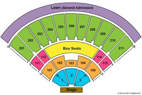 Sleep train amphitheatre seating chart live view
