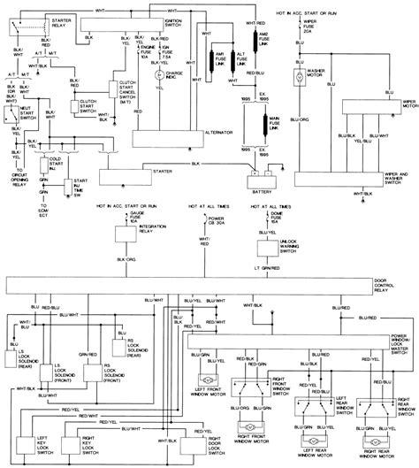 96 Toyotum Camry Alternator Wiring Schematic by Repair Guides