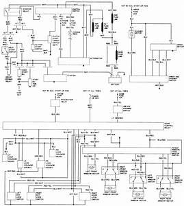 Exterior Wiring Diagram 91 Toyota P U