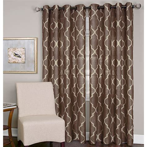 medalia curtain panel mocha boscov s