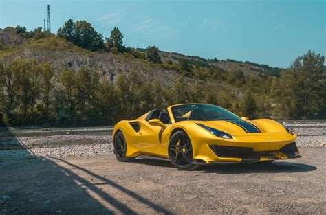 488 pista spider 2019 review autocar
