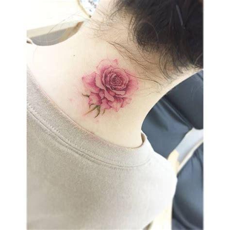 tattoo filter    neck tattoo   watercolor