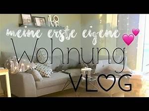 Meine Erste Wohnung : daily vlog meine erste eigene wohnung youtube ~ Orissabook.com Haus und Dekorationen