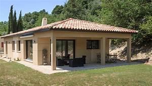 plan maison 120m2 plain pied agrandir le plan pied With lovely toit de maison dessin 4 devis gratuit maison individuelle bois prix au m2