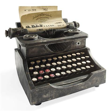 animated haunted typewriter  green head