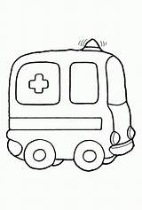 Ambulance Coloring Pages Printable раскраски для Vehicles Safety малышей Fire Colouring Drawing Clipart Pins Cars Popular Vehicle Wheels Draw Many sketch template