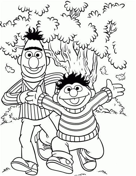 sesame colors sesame count coloring pages coloring home