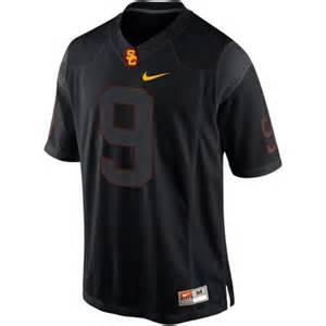 USC Trojans Football Black Jersey