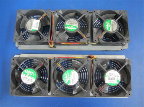 nidec ta350dc fan nidec beta v fans ta450dc 2 racks with 3 fans on