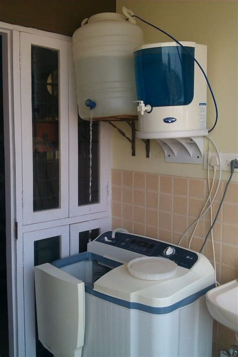 How to save and reuse the 'waste water' from my water