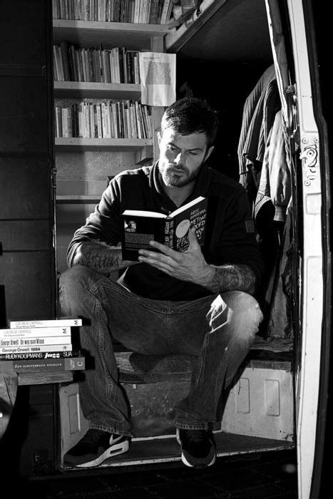 Josh Duhamel engrossed in a book. | Books | Guys read, Books to read, Books