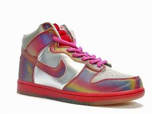 Neon Nikes Back to The Future 2 Dunks High SB Sneakers For