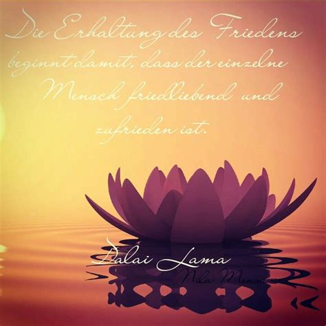 frieden buddhistische weisheit zitate