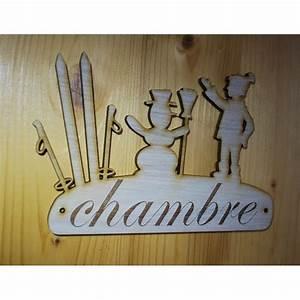 Pancarte En Bois : plaque de porte pancarte en bois grav e salle de bain 3d ~ Teatrodelosmanantiales.com Idées de Décoration