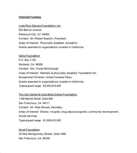 34+ Grant Proposal Templates - DOC, PDF