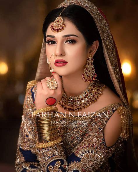Latest Beautiful Bridal Photo shoot of Gorgeous Sarah Khan