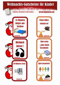 Gutscheine Für Adventskalender : weihnachts gutscheine f r kinder babykeks ~ Eleganceandgraceweddings.com Haus und Dekorationen
