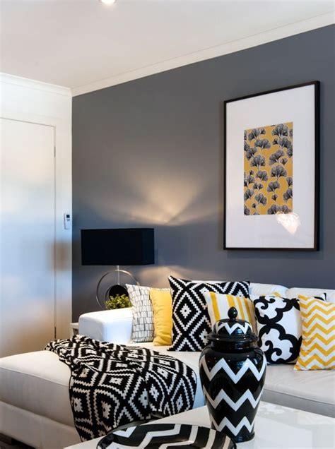 Yellow Black And Living Room Ideas by 1000 Ideas About White Living Rooms On Lounge
