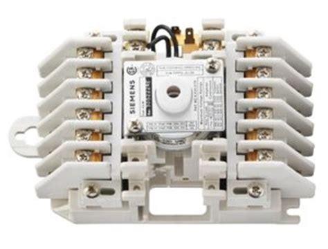electrically held contactors siemens