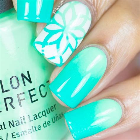 august nail color 25 best ideas about mint green nails on mint